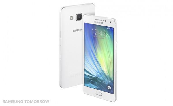 Galaxy A5 Pearl White -värissä