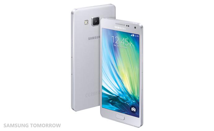 Galaxy A5 Platinum Silver -värissä