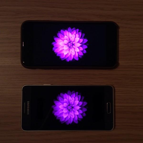 iPhone 6 ja Galaxy Alpha