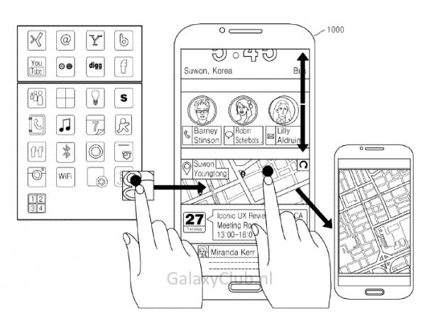 Samsungin Iconic UX -käyttöliittymä