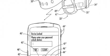 Kuva BlackBerryn älyranneke-patentista