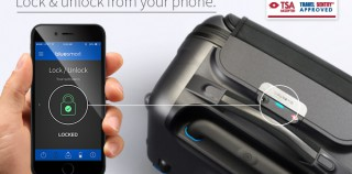 Tällainen on uusi älymatkalaukku – kontrolloi älypuhelimellasi