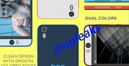 @upleaks vuoti Twitterissä kuvia HTC:n 13 megapikselin etukameralla varustetusta HTC Desire Eyesta