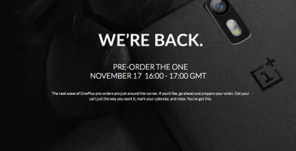 OnePlus One tulee jälleen tunnin ajaksi ennakkotilattavaksi