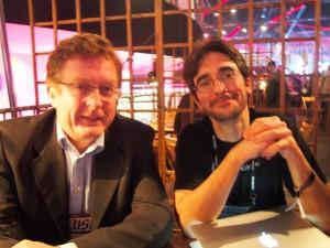 Puzzlephonen Markus Levlin ja Alejandro Santacreu