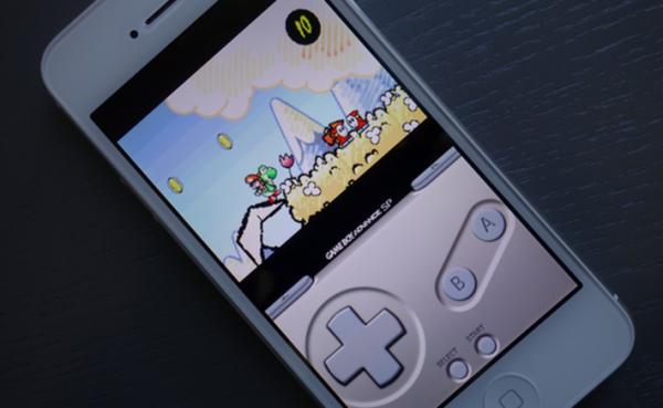 Game Boy -emulaattori iPhonella