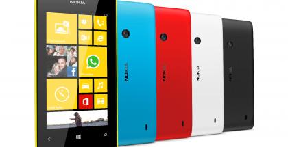 Lumia 520.