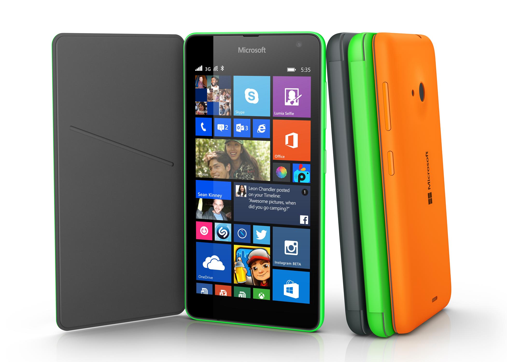 """Uusi Lumia 535 esiteltiin – """"Luja, kestävä ja eloisan värikäs ..."""