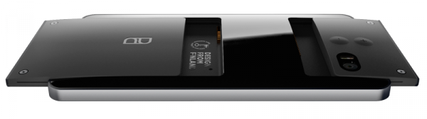 Puzzlephone - näyttömoduuli, akkumoduuli ja niin sanottu järjestelmämoduuli
