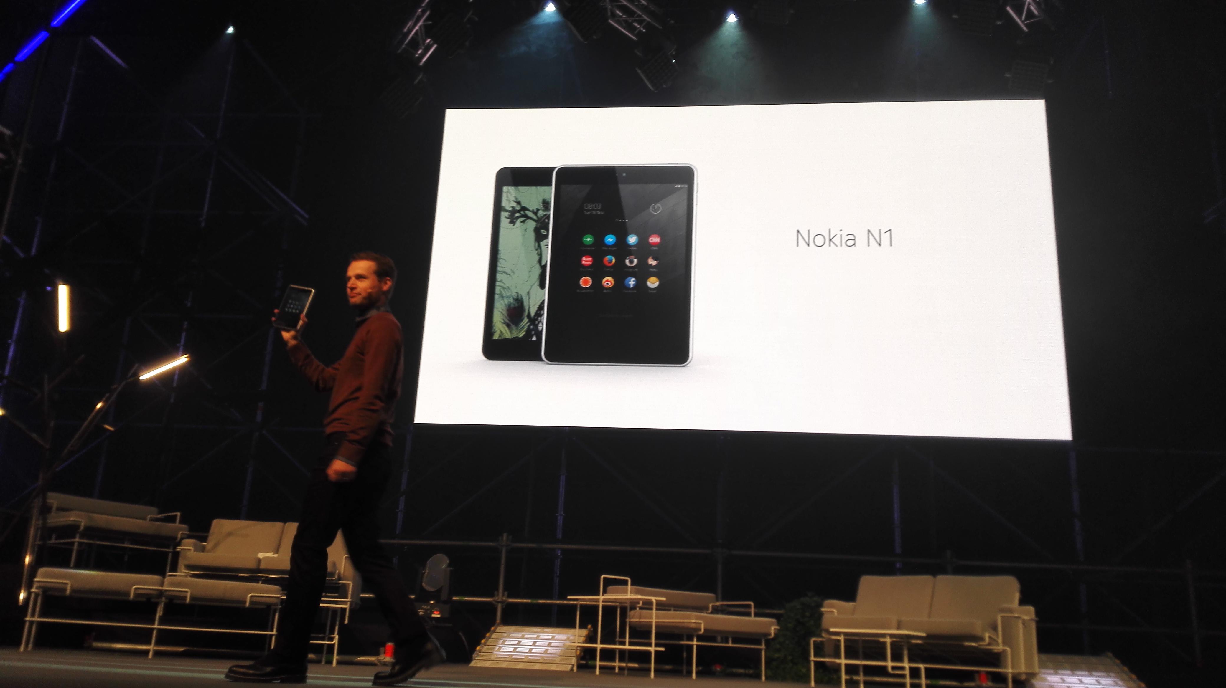 Nokia N1 julkistettiin Slushissa