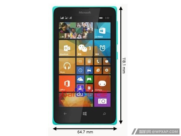 Vuotokuvassa Lumia 435. Kellonaika 3:30 viittaa laitteen kiinalaiseen mallinimeen Lumia 330.