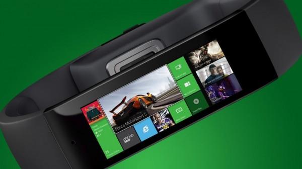 Taiteilijan näkemys Xbox Onen aktiivisuusrannekkeesta. Kuva: Wareable.com