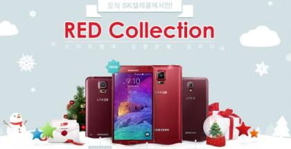 Galaxy Note 4 punainen