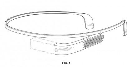 Uudenlainen Google Glass -design patenttihakemuskuvassa