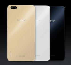 Huawei Honor 6 Plus eri väreissä