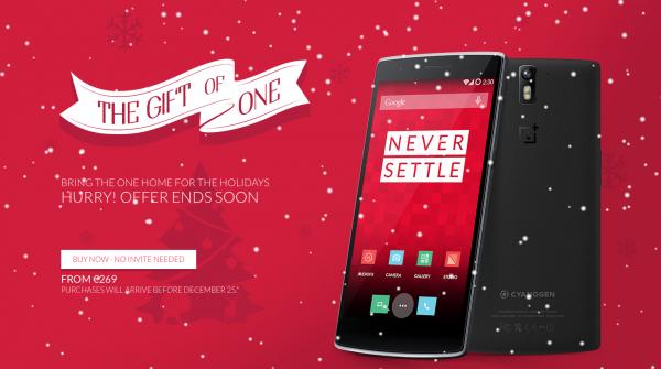 OnePlus One joulumyynti