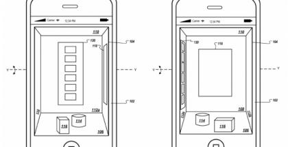 Applelle myönnetty patentti älypuhelimen eleohjatusta 3D-käyttöliittymästä