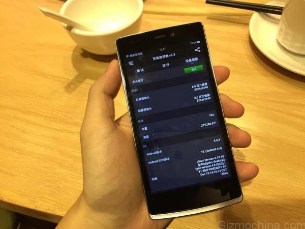 Oletettu OnePlus One Mini vuotokuvassa
