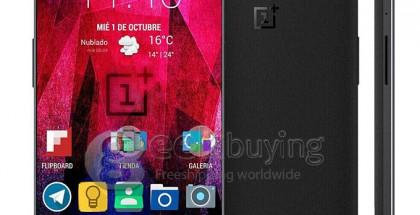 Väitetty OnePlus Two Geekbuying.com-sivustolla