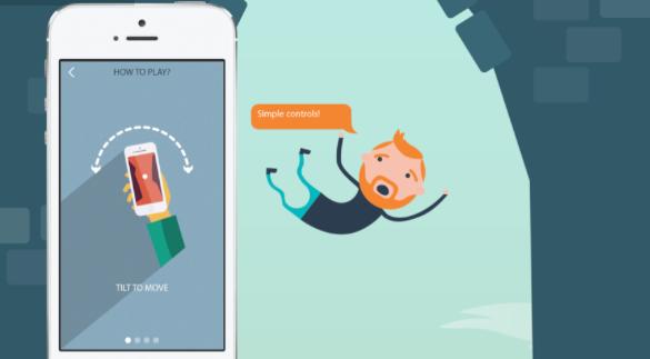 iOS-peli Plummet pohjautuu todellisiin kokemuksiin