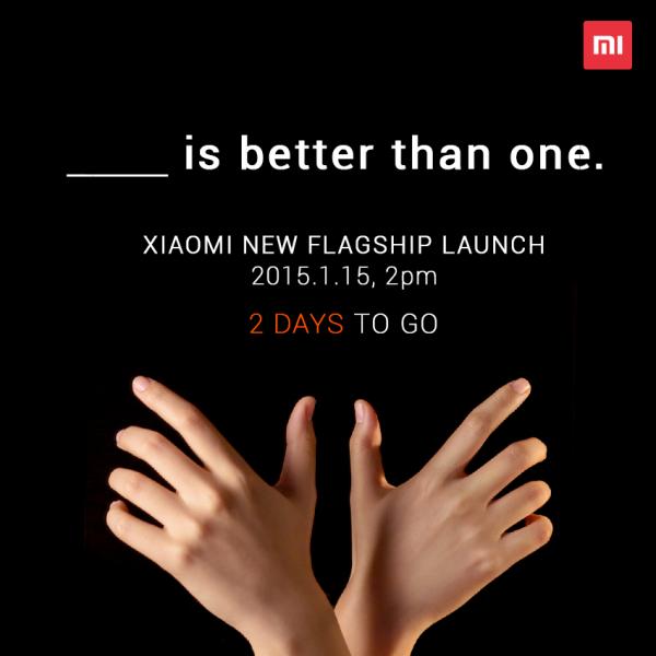Xiaomin teaser-kuva antaa olettaa, että 15. tammikuuta esitellään kaksi puhelinta.