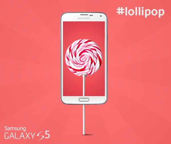 Galaxy S5 Lollipop