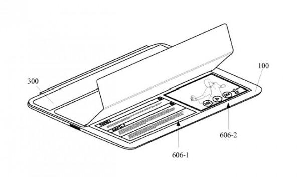 Applen patenttihakemuksessa esitellään, kuinka Smart Cover voisi olla nykyistäkin fiksumpi, tuoden näytölle erilaisia toimintoja riippuen siitä, paljonko suojaa avataan.
