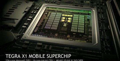 Nvidia Tegra X1 -järjestelmäpiiri.