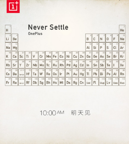 OnePlus One metalli