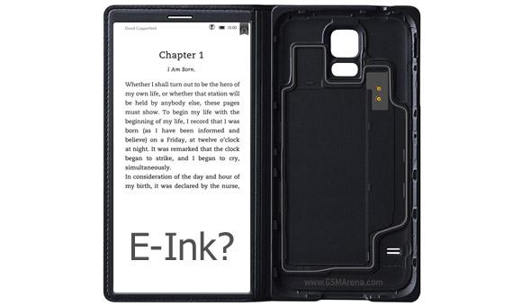 Voisiko Samsung Galaxy S6 laajentua lukulaitteeksi erillisellä E-ink -näytöllä?