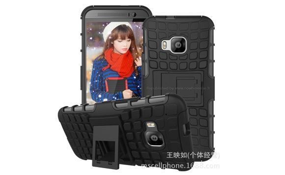 HTC One (M9) kiinalaisen kotelovalmistajan mallikuvassa