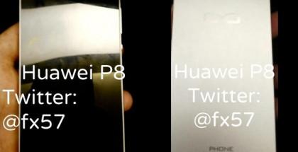 Vuotokuvassa väitetty Huawei Ascend P8