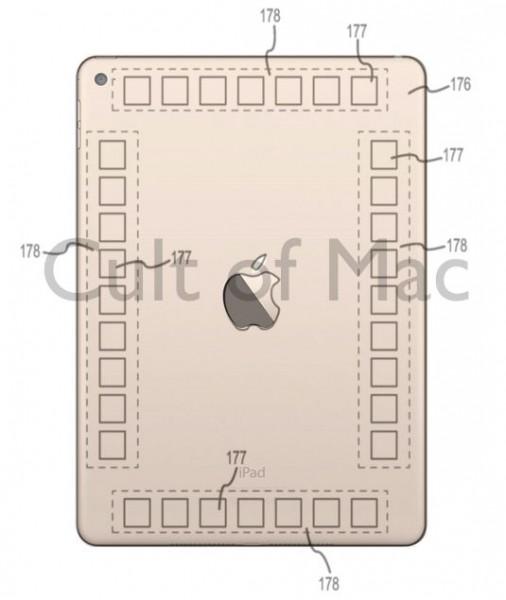 Apple on hakenut patenttia iPadin takaosaan lisätyille kosketuspinnoille, jotka voisivat avata uusia mahdollisuuksia vaikkapa pelien ohjaamiseen.