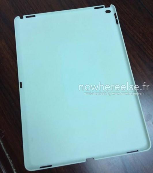 iPad Pron oletettu suojakuori (Nowhereelse.fi)