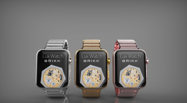 Brikkin kulta- ja timanttihöystetyt Apple Watchit