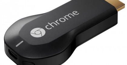 Alkuperäinen Chromecast.