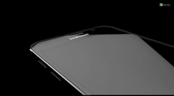 Kuvakaappaus Galaxy S6 -konseptivideosta.