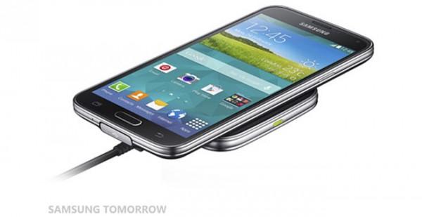 Samsung langaton lataus