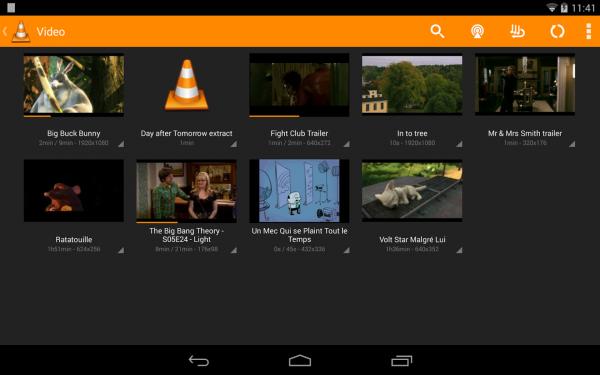 VLC Androidilla