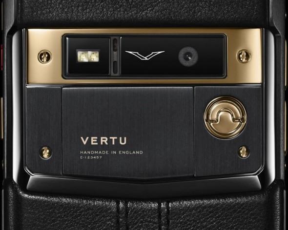 Vertu Signature Touch Red Jet Gold