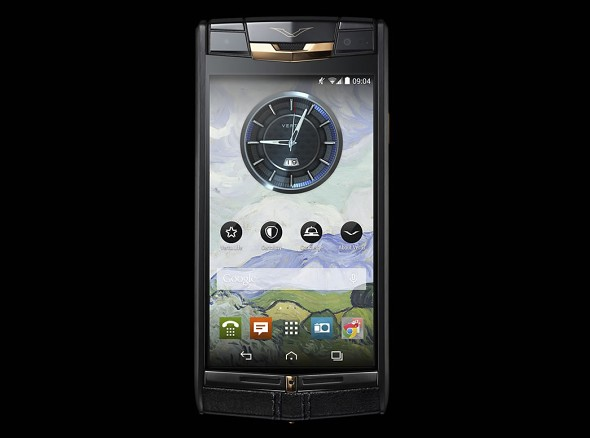 Vertu Signature Touch Pure Red Jet Gold