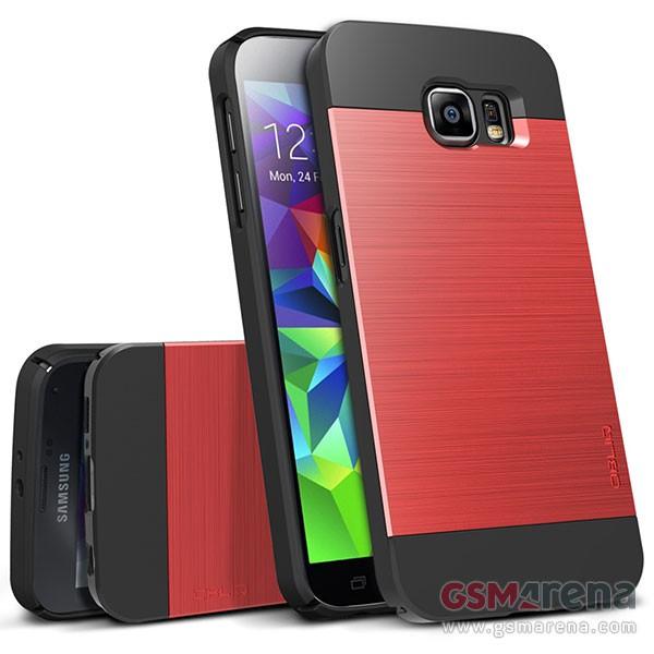 Obliq toimitti GSMArenalle kuvia Galaxy S6:sta ja kotelosta.