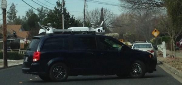 Apple ajeluttaa erikoisella kamerajärjestelmällä varustettuja autoja Kaliforniassa.