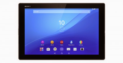 Nykyinen Sony Xperia Z4 Tablet.