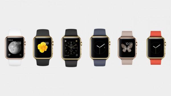 Kultainen Apple Watch Edition tulee tarjolle keltaisena ja ruusukultaisena.
