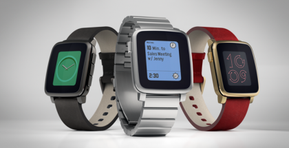 Pebble Time Steel.