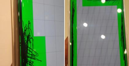 Galaxy S6 näyttöongelma