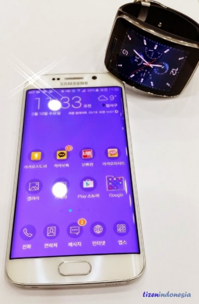 Galaxy S6 ja Gear S