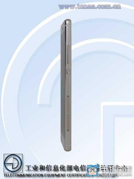 Huawei Ascend P8 TENAA-viraston kuvissa