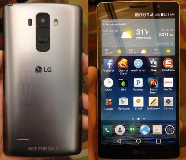 Vuotokuvissa väitetty LG G4